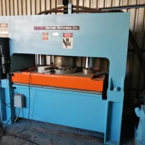 Herman Schwabe Dia – Cutting Machine Press